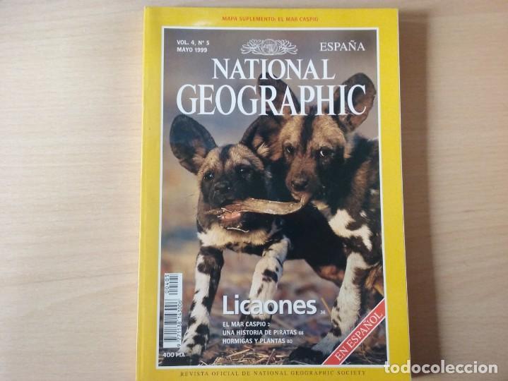LICAONES. VOLUMEN 4, NÚMERO 5. MAYO 1999. NATIONAL GEOGRAPHIC (Coleccionismo - Revistas y Periódicos Modernos (a partir de 1.940) - Revista National Geographic)
