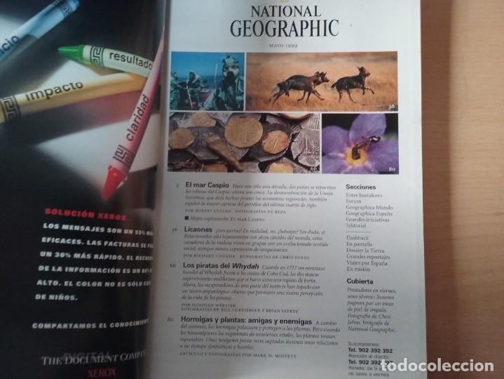 Coleccionismo de National Geographic: LICAONES. VOLUMEN 4, NÚMERO 5. MAYO 1999. NATIONAL GEOGRAPHIC - Foto 2 - 155346842
