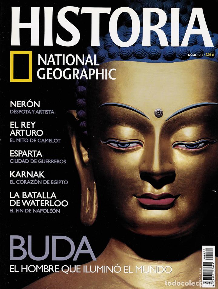 HISTORIA NATIONAL GEOGRAPHIC Nº 5 (Coleccionismo - Revistas y Periódicos Modernos (a partir de 1.940) - Revista National Geographic)