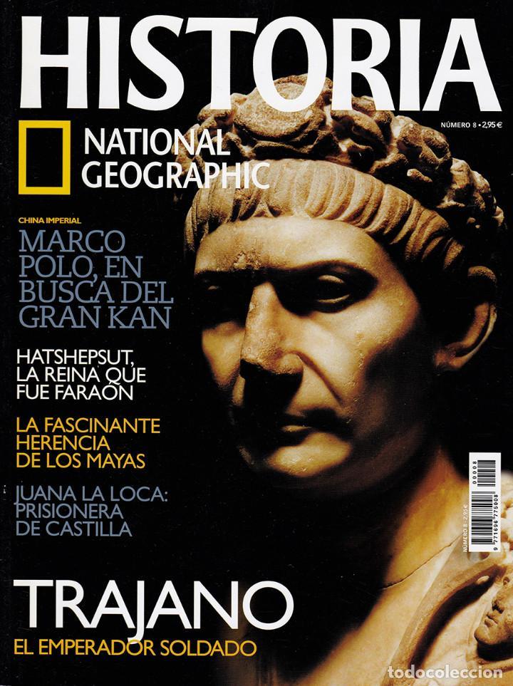HISTORIA NATIONAL GEOGRAPHIC Nº 8 (Coleccionismo - Revistas y Periódicos Modernos (a partir de 1.940) - Revista National Geographic)
