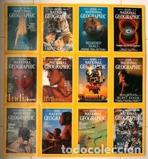 12 REVISTAS NATIONAL GEOGRAPHIC (AÑO 1997 COMPLETO) EDICIÓN ORIGINAL NORTEAMERICANA EN INGLÉS (Coleccionismo - Revistas y Periódicos Modernos (a partir de 1.940) - Revista National Geographic)
