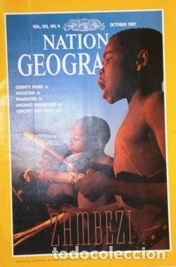 Coleccionismo de National Geographic: 12 Revistas National Geographic (Año 1997 completo) Edición original norteamericana en inglés - Foto 2 - 155601646