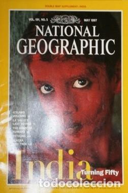 Coleccionismo de National Geographic: 12 Revistas National Geographic (Año 1997 completo) Edición original norteamericana en inglés - Foto 4 - 155601646