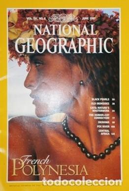 Coleccionismo de National Geographic: 12 Revistas National Geographic (Año 1997 completo) Edición original norteamericana en inglés - Foto 6 - 155601646