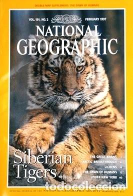 Coleccionismo de National Geographic: 12 Revistas National Geographic (Año 1997 completo) Edición original norteamericana en inglés - Foto 7 - 155601646