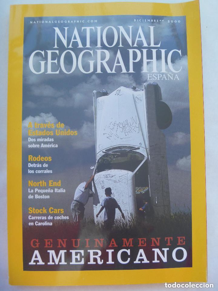 REVISTA NATIONAL GEOGRAPHIC, N º 7, 2000: ESTADOS UNIDOS, GENUINAMENTE AMERICANO, ETC (Coleccionismo - Revistas y Periódicos Modernos (a partir de 1.940) - Revista National Geographic)