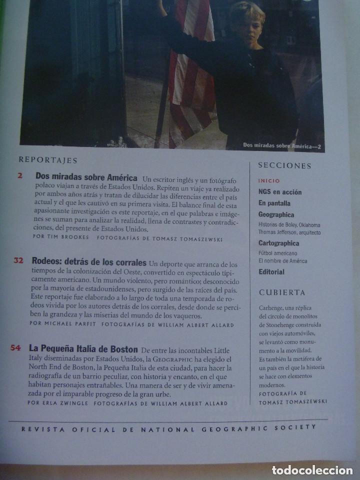 Coleccionismo de National Geographic: REVISTA NATIONAL GEOGRAPHIC, N º 7, 2000: ESTADOS UNIDOS, GENUINAMENTE AMERICANO, ETC - Foto 2 - 155986634