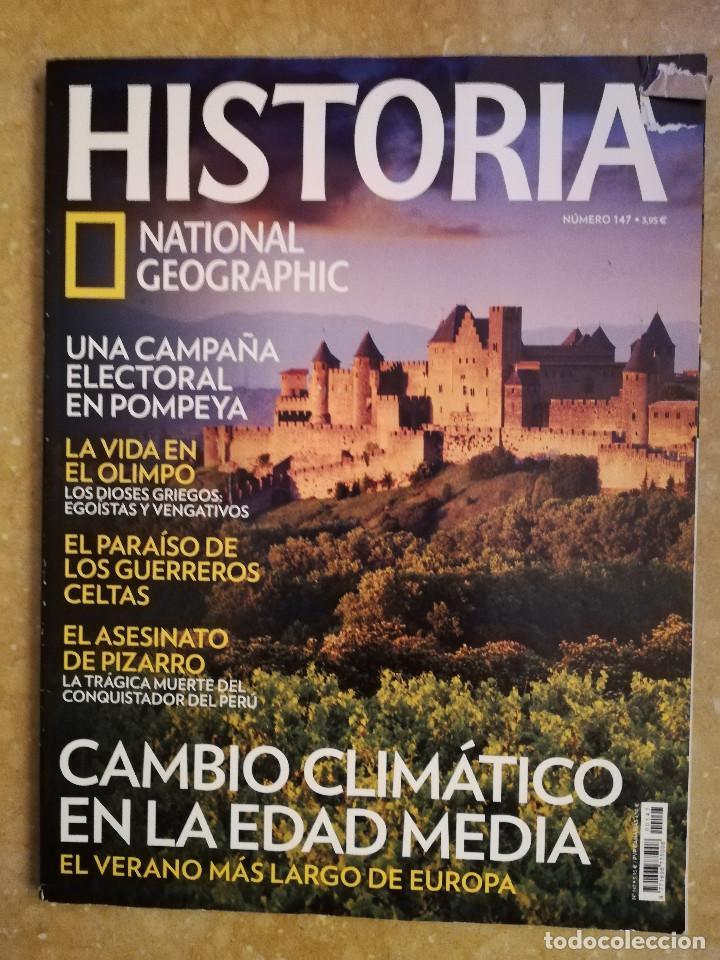 REVISTA HISTORIA NATIONAL GEOGRAPHIC Nº 147 (CAMBIO CLIMÁTICO EN LA EDAD MEDIA) (Coleccionismo - Revistas y Periódicos Modernos (a partir de 1.940) - Revista National Geographic)
