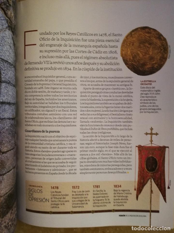 Coleccionismo de National Geographic: REVISTA HISTORIA NATIONAL GEOGRAPHIC Nº 161 (LA INQUISICIÓN) - Foto 4 - 156464678
