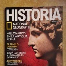 Coleccionismo de National Geographic: REVISTA HISTORIA NATIONAL GEOGRAPHIC Nº 154 (LA TUMBA DE ALEJANDRO MAGNO). Lote 156465158