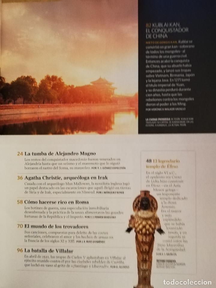 Coleccionismo de National Geographic: REVISTA HISTORIA NATIONAL GEOGRAPHIC Nº 154 (LA TUMBA DE ALEJANDRO MAGNO) - Foto 3 - 156465158