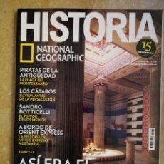 Coleccionismo de National Geographic: REVISTA HISTORIA NATIONAL GEOGRAPHIC Nº 179 (ASÍ ERA EL MUNDO ANTIGUO). Lote 156465322