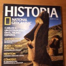 Coleccionismo de National Geographic: HISTORIA NATIONAL GEOGRAPHIC. NÚMERO 143. AÑO 2012. ESPECIAL LA ISLA DE PASCUA. Lote 156540978