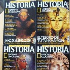 Coleccionismo de National Geographic: LOTE 4 REVISTAS HISTORIA NATIONAL GEOGRAPHIC NOS, 23 - 24 - 25 - 27. Lote 156687454