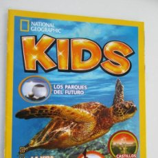 Colecionismo da National Geographic: NATIONAL GEOGRAPHIC KIDS REVISTA N º 6 LA VIDA SECRETA DE LAS TORTUGAS MARINAS . Lote 158147822