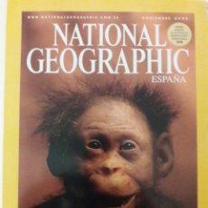 Coleccionismo de National Geographic: REVISTA NATIONAL GEOGRAPHIC( NOV 2006) Y DVD EN EL VIENTRE MATERNO.. Lote 158940573