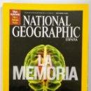 Coleccionismo de National Geographic: NATIONAL GEOGRAPHIC - OCTUBRE 2008 - LA MEMORIA. Lote 159163134