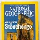 Coleccionismo de National Geographic: NATIONAL GEOGRAPHIC - SEPTIEMBRE 2008 - LOS SECRETOS DE STONEHENGE. Lote 159163270