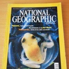 Coleccionismo de National Geographic: REVISTA NATIONAL GEOGRAPHIC MAYO 2001. EL FRÁGIL MUNDO DE LAS RANAS. Lote 159653106