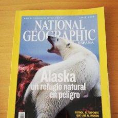 Coleccionismo de National Geographic: REVISTA NATIONAL GEOGRAPHIC JUNIO 2006. ALASKA: UN REFUGIO NATURAL EN PELIGRO. Lote 159653222