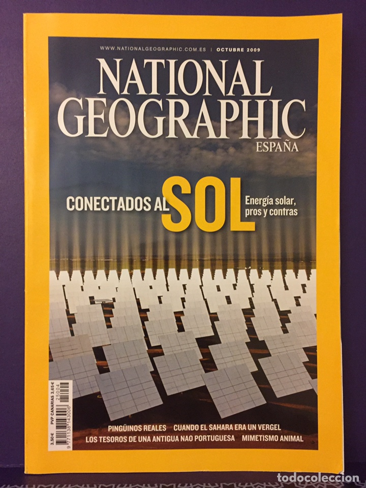 REVISTAS NATIONAL GEOGRAPHIC (Coleccionismo - Revistas y Periódicos Modernos (a partir de 1.940) - Revista National Geographic)