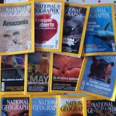 Coleccionismo de National Geographic: 12 REVISTAS NATIONAL GEOGRAPHIC TODO 2007 + 2 ARCHIVADORES. Lote 161947354