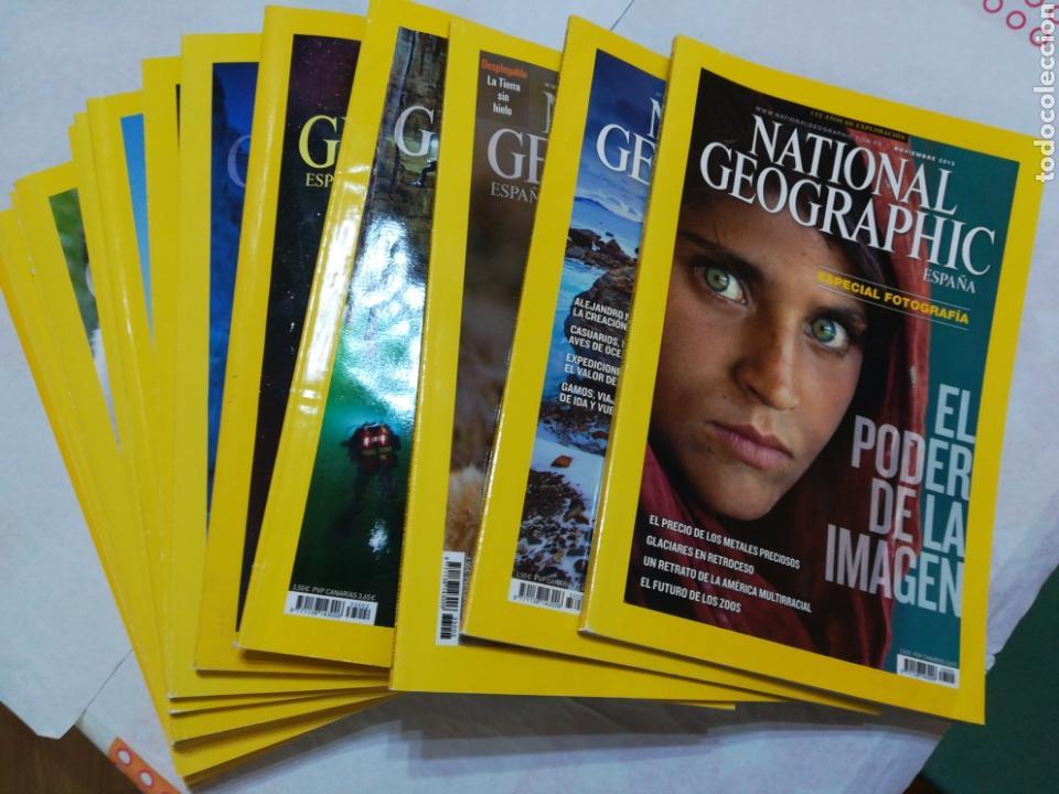 Coleccionismo de National Geographic: Lote 16 revistas National Geographic. Mayo-septiembre 2012, febrero-noviembre 2013 + septiembre 2000 - Foto 3 - 162493977