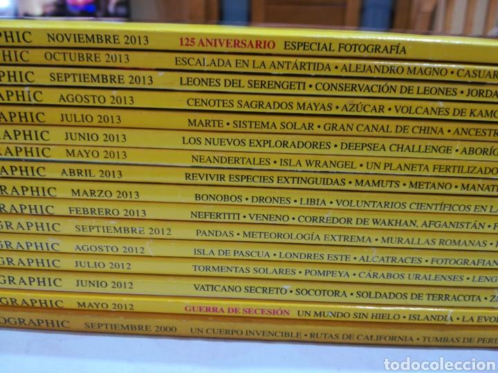 Coleccionismo de National Geographic: Lote 16 revistas National Geographic. Mayo-septiembre 2012, febrero-noviembre 2013 + septiembre 2000 - Foto 2 - 162493977