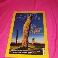 Coleccionismo de National Geographic: NATIONAL GEOGRAPHIC - ISLAS ORCADAS / CUEVAS GIGANTES DE CHINA / ECOS DE LA GRAN GUERRA.. Lote 162793006
