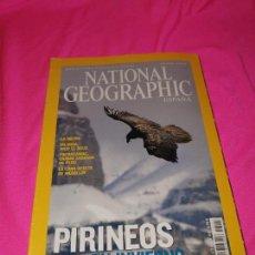 Coleccionismo de National Geographic: NATIONAL GEOGRAPHIC - PIRINEOS EN INVIERNO / LA MENTE / PACHACAMAC CIUDAD SAGRADA DEL PERÚ. Lote 162794870