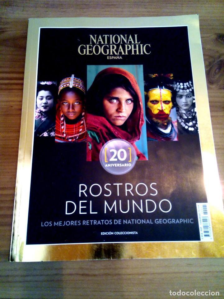 Coleccionismo de National Geographic: LOTE 3 REVISTAS NATIONAL GEOGRAPHIC, ROSTROS DEL MUNDO 20 ANIVERSARIO, ES ELLA, SOS. - Foto 2 - 163081546