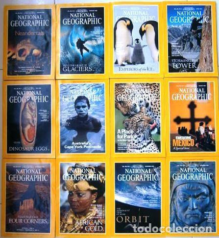 12 REVISTAS NATIONAL GEOGRAPHIC (AÑO 1996 COMPLETO) EDICIÓN ORIGINAL NORTEAMERICANA EN INGLÉS (Coleccionismo - Revistas y Periódicos Modernos (a partir de 1.940) - Revista National Geographic)