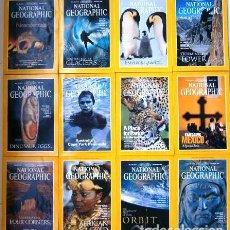 Coleccionismo de National Geographic: 12 REVISTAS NATIONAL GEOGRAPHIC (AÑO 1996 COMPLETO) EDICIÓN ORIGINAL NORTEAMERICANA EN INGLÉS. Lote 163452114