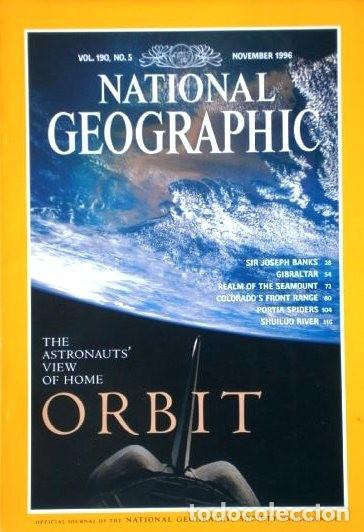Coleccionismo de National Geographic: 12 Revistas National Geographic (Año 1996 completo) Edición original norteamericana en inglés - Foto 2 - 163452114