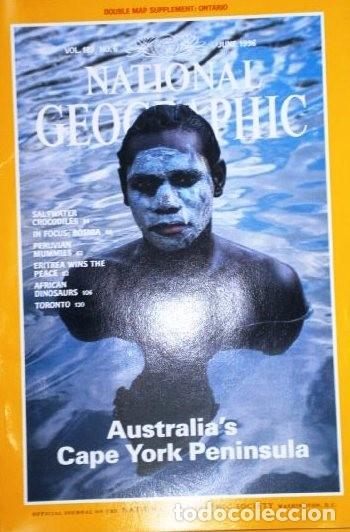 Coleccionismo de National Geographic: 12 Revistas National Geographic (Año 1996 completo) Edición original norteamericana en inglés - Foto 3 - 163452114
