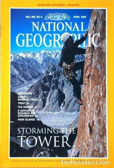 Coleccionismo de National Geographic: 12 Revistas National Geographic (Año 1996 completo) Edición original norteamericana en inglés - Foto 4 - 163452114