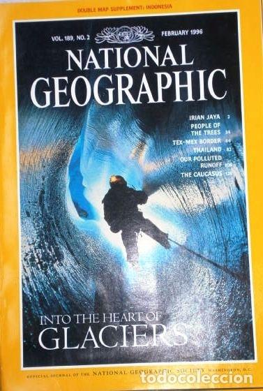 Coleccionismo de National Geographic: 12 Revistas National Geographic (Año 1996 completo) Edición original norteamericana en inglés - Foto 6 - 163452114