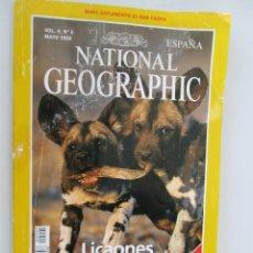 Coleccionismo de National Geographic - NATIONAL GEOGRAPHIC ESPAÑA MAYO 1999 LICAONES - 163997922