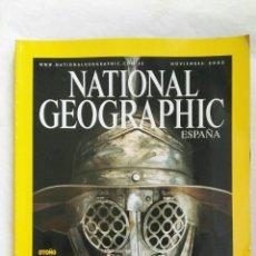 Coleccionismo de National Geographic: NATIONAL GEOGRAPHIC GLADIADORES ÍDOLOS DE LA ANTIGUA ROMA. Lote 167600892