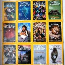 Coleccionismo de National Geographic: 12 REVISTAS NATIONAL GEOGRAPHIC (AÑO 1994 COMPLETO) EDICIÓN ORIGINAL NORTEAMERICANA EN INGLÉS. Lote 167736852