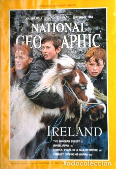 Coleccionismo de National Geographic: 12 Revistas National Geographic (Año 1994 completo) Edición original norteamericana en inglés - Foto 3 - 167736852