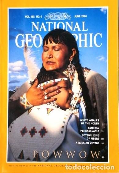 Coleccionismo de National Geographic: 12 Revistas National Geographic (Año 1994 completo) Edición original norteamericana en inglés - Foto 6 - 167736852