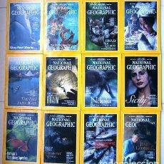 Coleccionismo de National Geographic: 12 REVISTAS NATIONAL GEOGRAPHIC (AÑO 1995 COMPLETO) EDICIÓN ORIGINAL NORTEAMERICANA EN INGLÉS. Lote 168361064