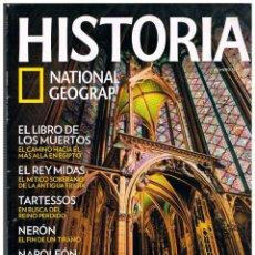 Coleccionismo de National Geographic: HISTORIA NATIONAL GEOGRAPHIC Nº 102, MASONES, LOS CONSTRUCTORES DE LAS CATEDRALES GOTICAS. Lote 169592152