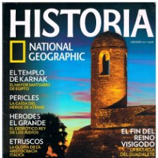 Coleccionismo de National Geographic: HISTORIA NATIONAL GEOGRAPHIC Nº 101, EL FIN DEL REINO VISIGODO, LA BATALLA DE GUADALETE. Lote 169592264