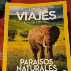 Coleccionismo de National Geographic: VIAJES NATIONAL GEOGRAPHIC EDICION ESPECIAL N. 6 - PARAISOS NATURALES. Lote 173132837