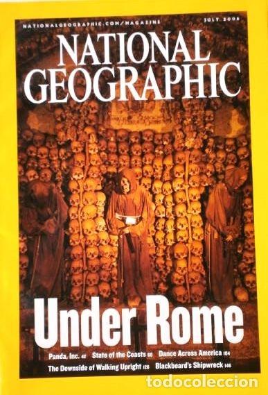 Coleccionismo de National Geographic: 12 Revistas National Geographic (Año 2006 completo) Edición original norteamericana en inglés - Foto 2 - 174153073