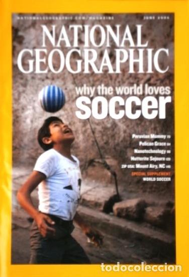 Coleccionismo de National Geographic: 12 Revistas National Geographic (Año 2006 completo) Edición original norteamericana en inglés - Foto 5 - 174153073