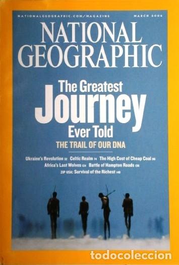 Coleccionismo de National Geographic: 12 Revistas National Geographic (Año 2006 completo) Edición original norteamericana en inglés - Foto 7 - 174153073