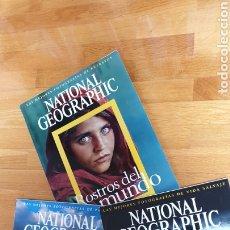 Coleccionismo de National Geographic: NATIONAL GEOGRAPHIC FORMATO GRANDE. LAS MEJORES FOTOGRAFÍAS. ROSTROS, PAISAJES Y ANIMALES DEL MUNDO. Lote 174509799